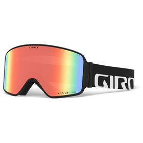 Giro Method Gafas, black/vivid ember/vivid infrared